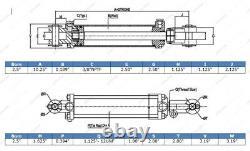 2.5 Bore, 18 Stroke, Tie Rod Hydraulic Cylinder