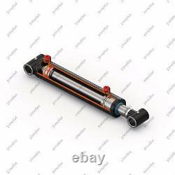 3 Bore, 24 Stroke, Hydraulic Welded Cylinder Cross Tube