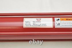3 Bore x 16 Stroke Hydraulic Tie Rod Cylinder, 2500 PSI, 1/2 NPT Ports