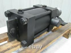 8 Bore 6 Stroke Hydraulic Cylinder Trunnion Mount 5-12 Threaded Shaft