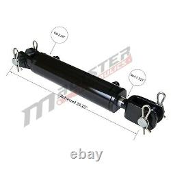 Ag Clevis Hydraulic Cylinder Welded Double Acting 2 Bore 8 Stroke WBC 2x8 ASAE