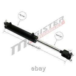 Ag Clevis Hydraulic Cylinder Welded Double Acting 3 Bore 16 Stroke WBC 3x16