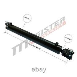 Ag Clevis Hydraulic Cylinder Welded Double Acting 3 Bore 24 Stroke WBC 3x24