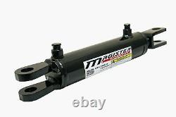 Ag Clevis Hydraulic Cylinder Welded Double Acting 4 Bore 12 Stroke WBC 4x12