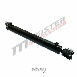 Ag Clevis Hydraulic Cylinder Welded Double Acting 4 Bore 24 Stroke WBC 4x24