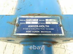 Anker-Holth Model PH Hydraulic Cylinder 6 Bore 5 Stroke 2 Rod