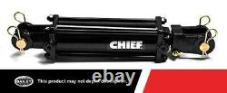 Chief 3000 PSI TC3 Tie-rod Hydraulic Cylinder with 5 in. Bore x 10 in. Stroke