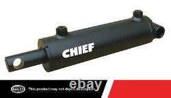 Chief 3000 PSI WP Welded Hydraulic Cylinder with 4 in. Bore x 60 in. Stroke