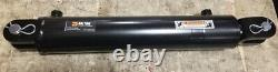 Dalton Hydraulic Welded Clevis Cylinder, 3.5 Bore 16 Stroke 3000 PSI, #8 SAE