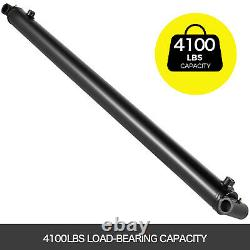 Double Acting Hydraulic Cylinder 2 Bore 36 Stroke Welded Cylinder Tube 2500PSI