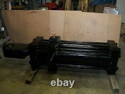 Hydraulic Cylinder 14 Bore 40 Stroke Rod Size 6 Trundle Pin Mount 4 1/2