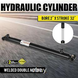 Hydraulic Cylinder 2 Bore 32 Stroke Double Acting maintainable Suitable Top