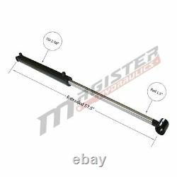 Hydraulic Cylinder For Loader Double Acting 2.5 Bore 23.5 Stroke 2.5x23.5 NEW