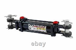 Hydraulic Cylinder Tie Rod Double Action 2.5 Bore 14 Stroke 2500 PSI 2.5x14