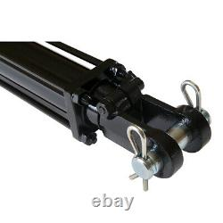 Hydraulic Cylinder Tie Rod Double Action 2 Bore 24 Stroke 2500 PSI 2x24 NEW