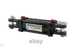 Hydraulic Cylinder Tie Rod Double Action 3 Bore 12 Stroke 2500 PSI 3x12 NEW