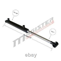 Hydraulic Cylinder Welded Double Acting 1.5 Bore 10 Stroke Cross Tube 1.5x10