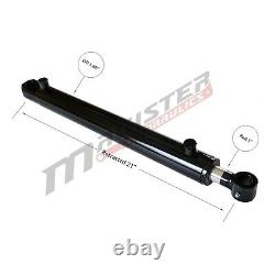 Hydraulic Cylinder Welded Double Acting 1.5 Bore 12 Stroke Tang 1.5x12 WTG NEW