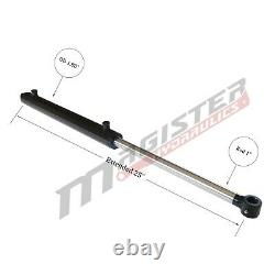 Hydraulic Cylinder Welded Double Acting 1.5 Bore 8 Stroke Tang 1.5x8 WTG style