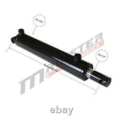 Hydraulic Cylinder Welded Double Acting 2.5 Bore 10 Stroke PinEye End 2.5x10