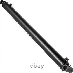 Hydraulic Cylinder Welded Double Acting 2.5 Bore 30 Stroke Cross Tube 2.5x30