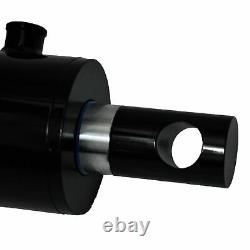 Hydraulic Cylinder Welded Double Acting 2 Bore 16 Stroke PinEye End 216