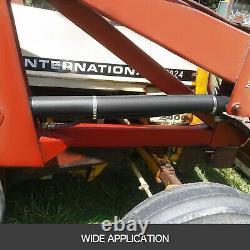 Hydraulic Cylinder Welded Double Acting 2 Bore 28 Stroke Cross Tube 2x28 SAE6