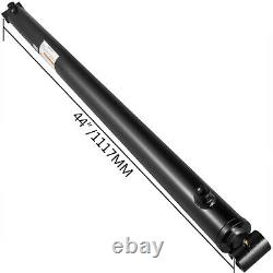 Hydraulic Cylinder Welded Double Acting 2 Bore 36 Stroke Cross Tube 2500PSI