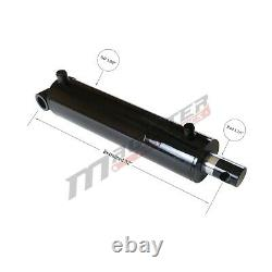 Hydraulic Cylinder Welded Double Acting 3.5 Bore 24 Stroke PinEye End 3.5x24