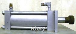 Milwaukee Hydraulic Cylinder 1500psi, Bore 6, Stroke 11, 2 1/2 Shaft Dia, H31