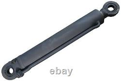 New Heavy Duty Hydraulic Cylinder 4 Bore 28 Length 18 Stroke 2 Rod 1.5 Pin