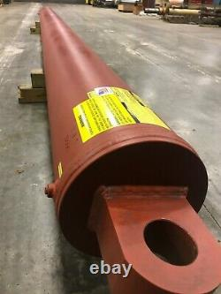 Telescopic Hydraulic Cylinder 10 bore 45' stroke 3 stage