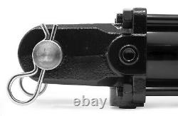 WEN TR4012 2500 PSI Tie Rod Hydraulic Cylinder with 4 in. Bore and 12 in. Stroke