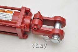 2.5 Bore X 24 Stroke Hydraulic Tie Rod Cylinder, 2500 Psi, 3/8 Npt Ports