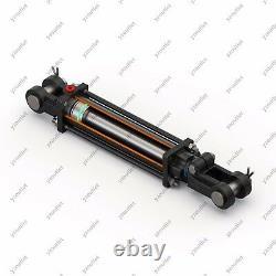 2 Alésage, 36 Course, Cylindre Hydraulique De Tige De Cravate