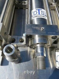3000 Psi Cylindre Hydraulique 4 Alésage 13 Coups Tout En Acier Inoxydable
