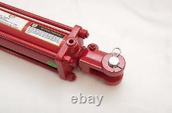 Cylindre De Tige De Cravate 3.5 X 8, Double Action Hydraulique, 3.5 Dans Le Bore X 8 Dans La Course