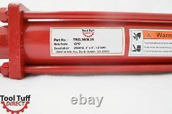 Cylindre En Tie Rod, Hydraulique À Double Action, 3 Bore X 8 Stroke, Npt, 2500 Psi