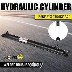 Cylindre Hydraulique 2 Alésage 32 Course Double Acting Maintenu Haut Approprié