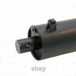 Cylindre Hydraulique À Double Action De 22 25 Tonnes Oem Log Splitter 4 Bore X 24 Stroke