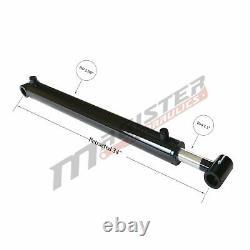 Cylindre Hydraulique Pour Chargeur À Double Action 2,5 Bore 23,5 Atteinte 2,5x23.5 Nouveau