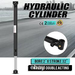 Cylindre Hydraulique Pour Chargeur Soudé Double Action 2 Bore 32 Course 2x32