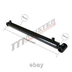 Cylindre Hydraulique Pour Chargeur Soudés Double Effet 2 Bore 22,75 Stroke 2x22.75