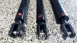 Cylindre Hydraulique Ram 2.5 Pouces Bore Divers Coups Aust Fait 6 Tonne À 2700 Psi