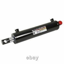 Cylindre Hydraulique Soudé À Double Action 2 Bore 16 Stroke Pineye End 216