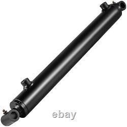 Cylindre Hydraulique Soudé Double Action 1.5-3 Bore Et 8-48stroke Cross Tube