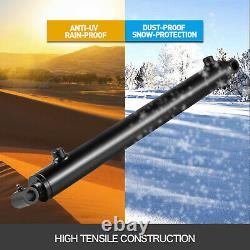 Cylindre Hydraulique Soudé Double Action 1.5 Bore 16 Stroke Cross Tube 1.5x16