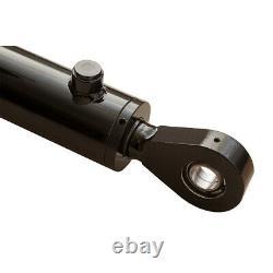Cylindre Hydraulique Soudé Double Action 2.5 Bore 24 Stroke Swivel Eye 2.5x24