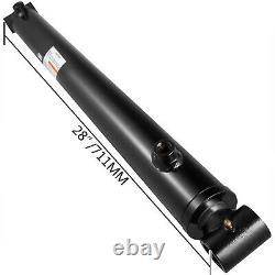 Cylindre Hydraulique Soudé Double Action 2 Bore 20 Stroke Cross Tube 3500psi