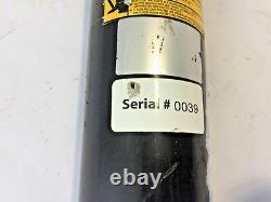Cylindre Hydraulique Soudé Double Action 2 Bore 25 Tube Croisé 2500psi